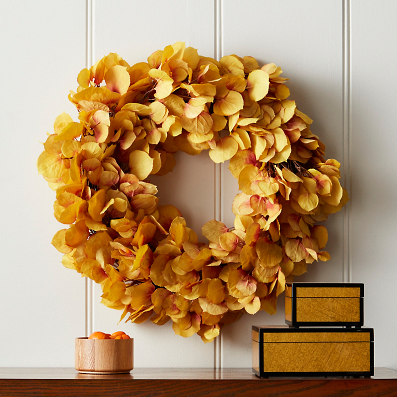 Yellow Aspen Wreath