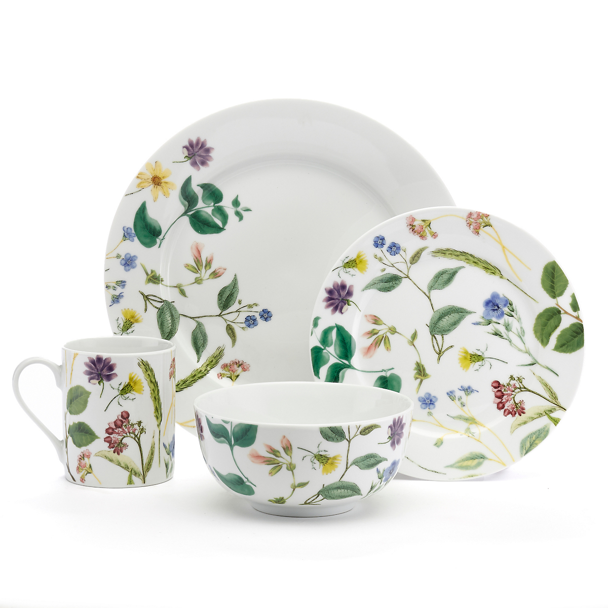 Spode Flower Journal Dinnerware, 16pc Setting