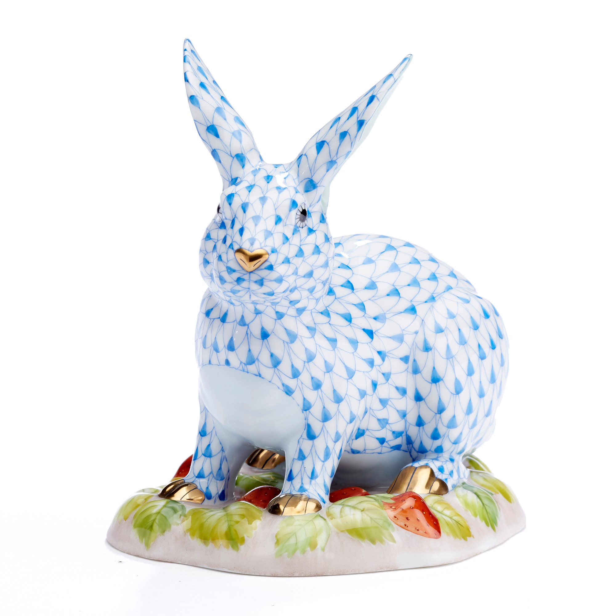 Herend Easter Bunnies Berry Bunny