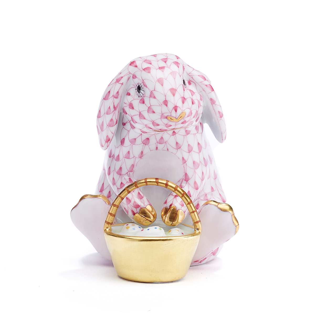 Herend Easter Bunnies Eggstravagant Bunny