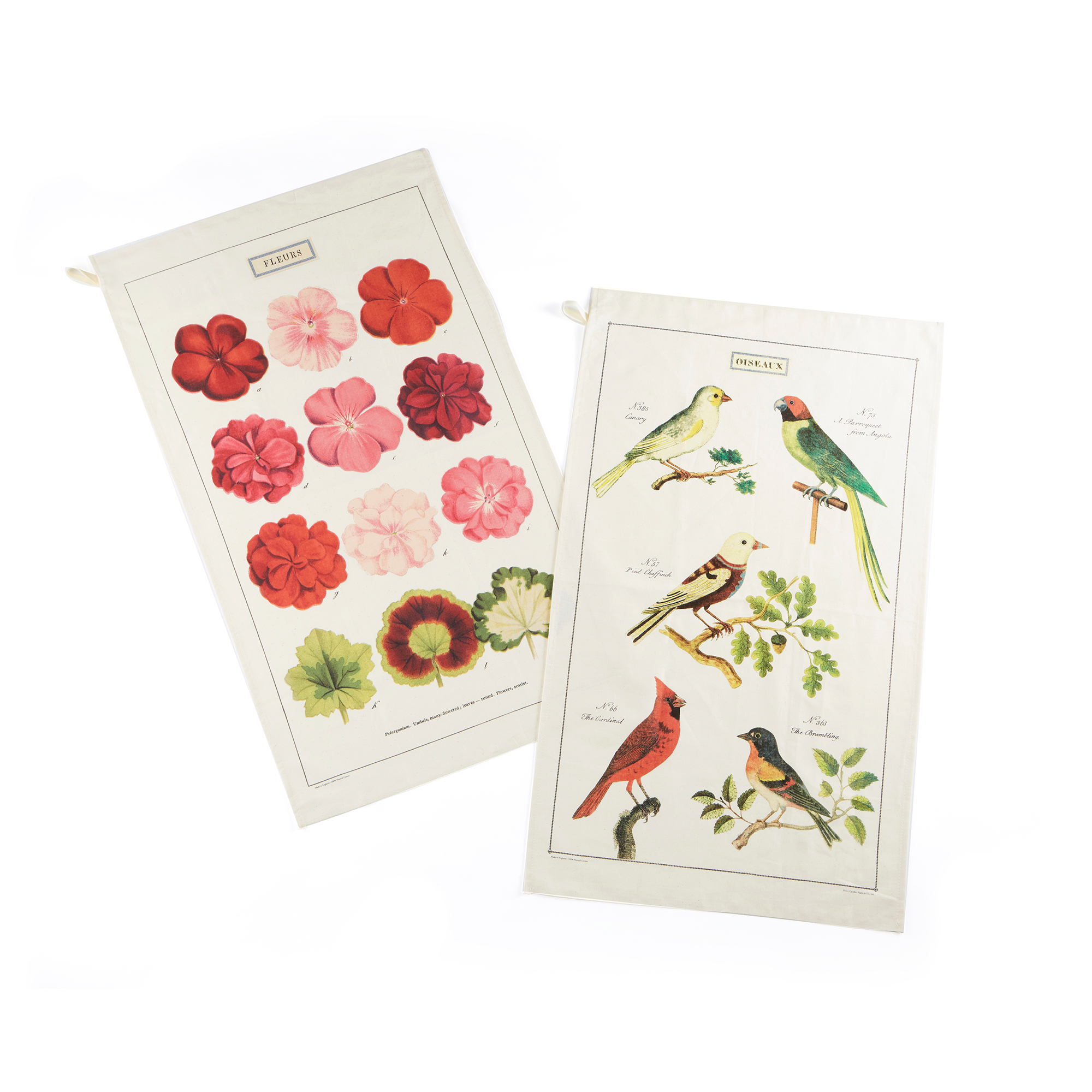Vintage Tea Towels, Set Of 2
