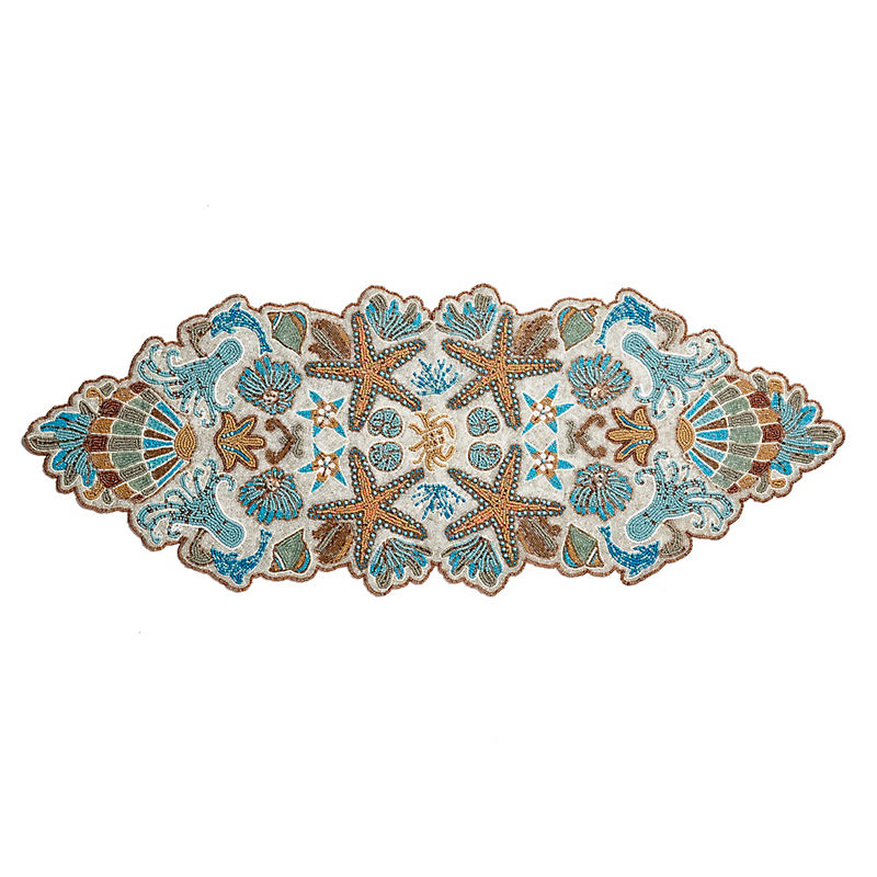 Coastal Beaded Runner
