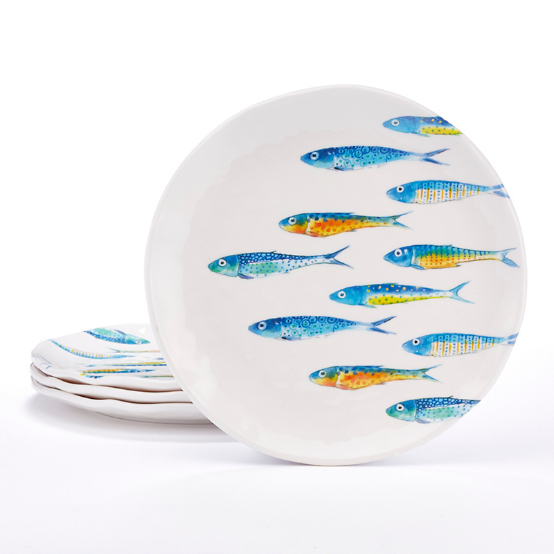 Melamine Fish Dinnerware