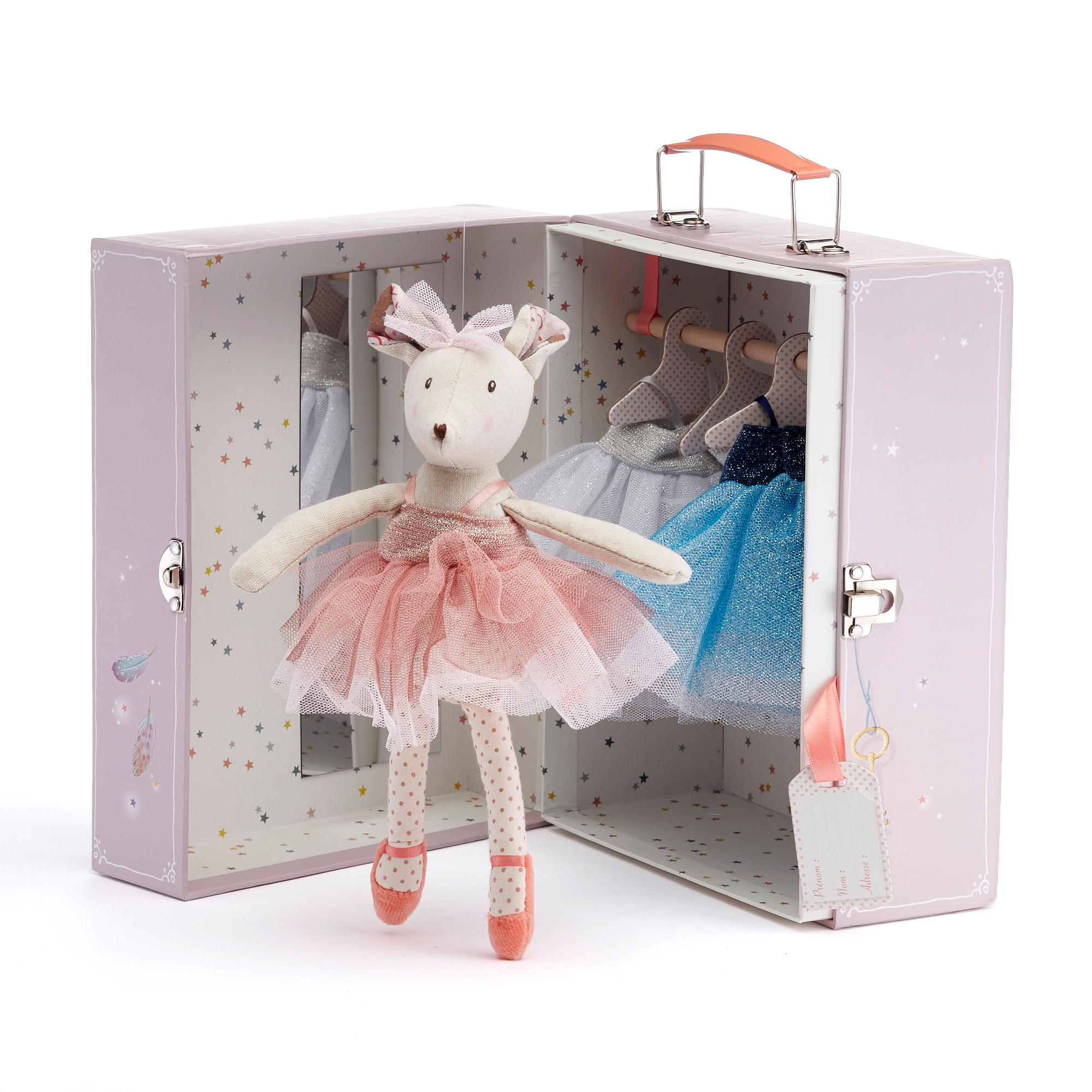 Ballerina Mouse With Wardrobe