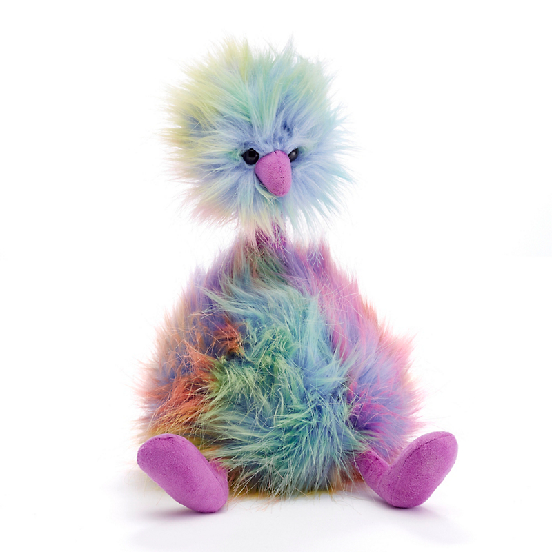Plush Rainbow Bird