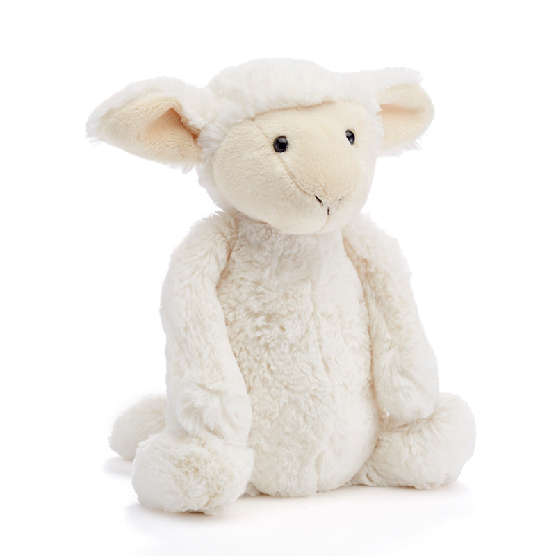 Plush Bashful Lamb