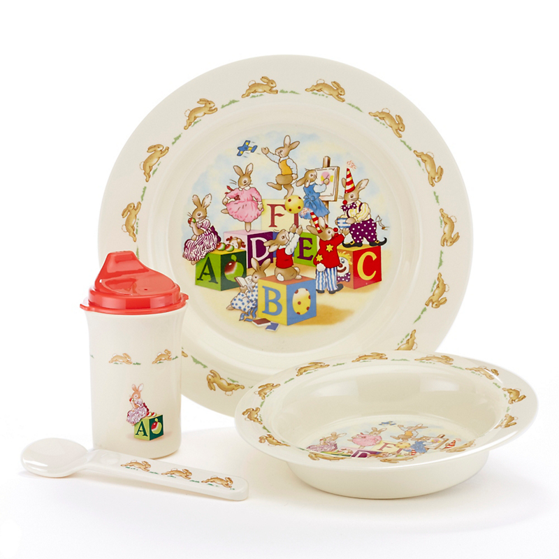 Royal Doulton Bunnykins Dinnerware, 5pc Setting
