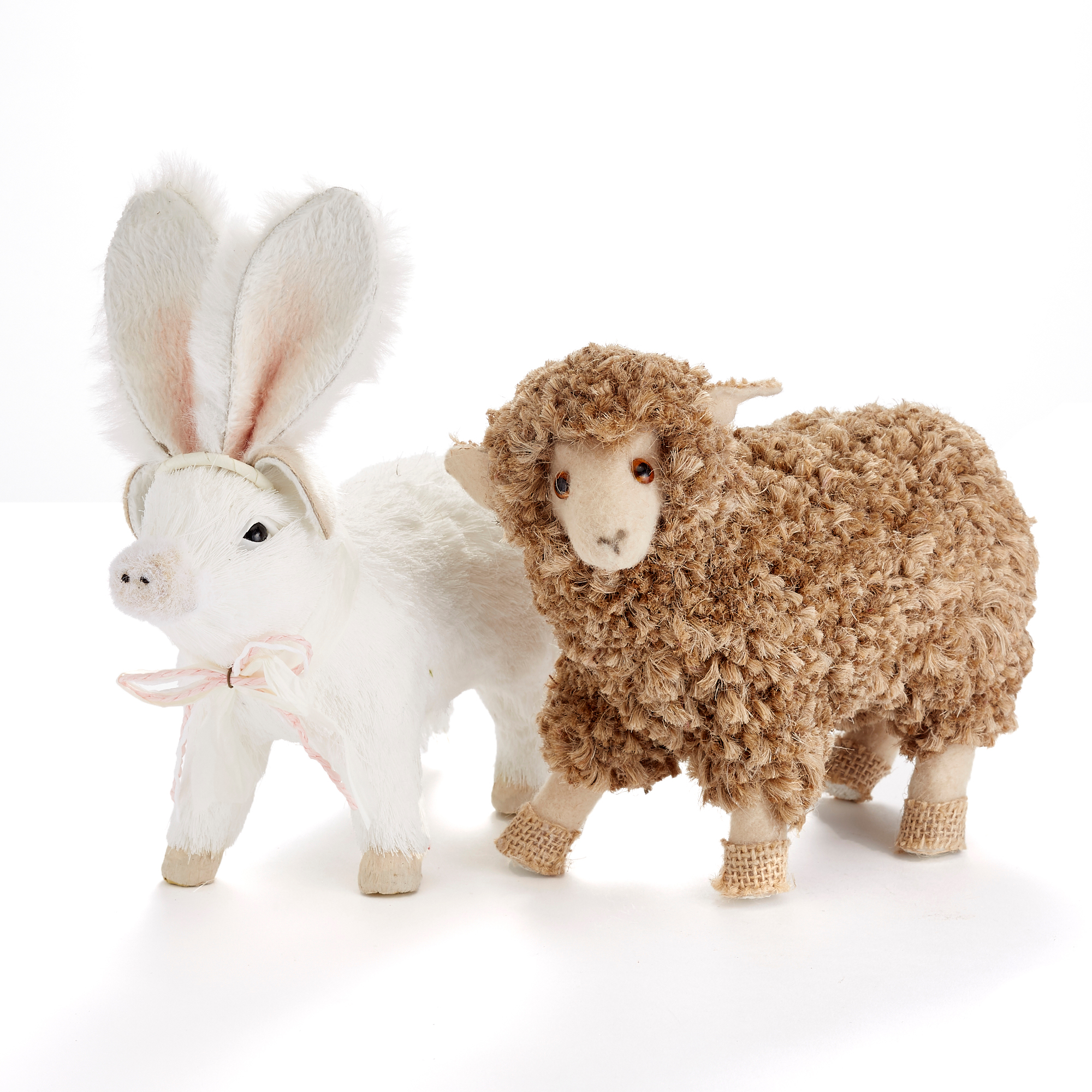 Millennial Farm Animals, Set Of 2