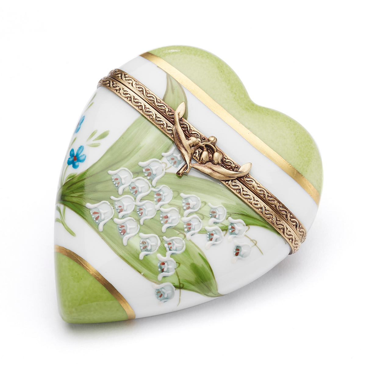 Happy Easter Limoges, Lily Of The Valley Heart