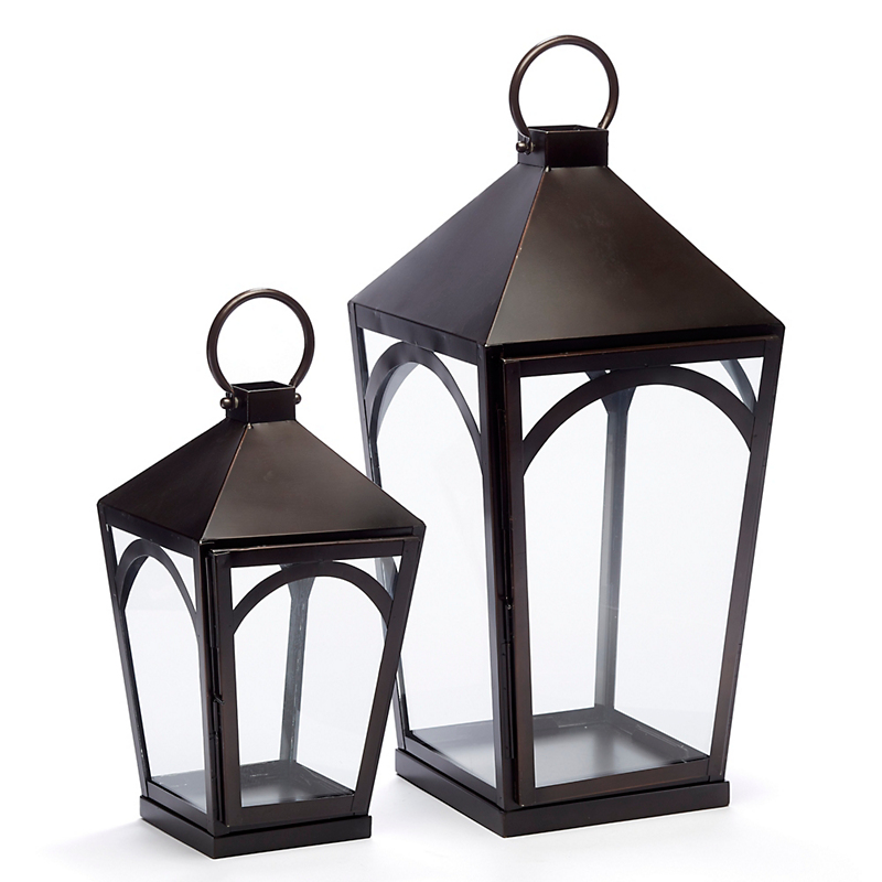Belmont Tapered Lanterns, Set Of 2
