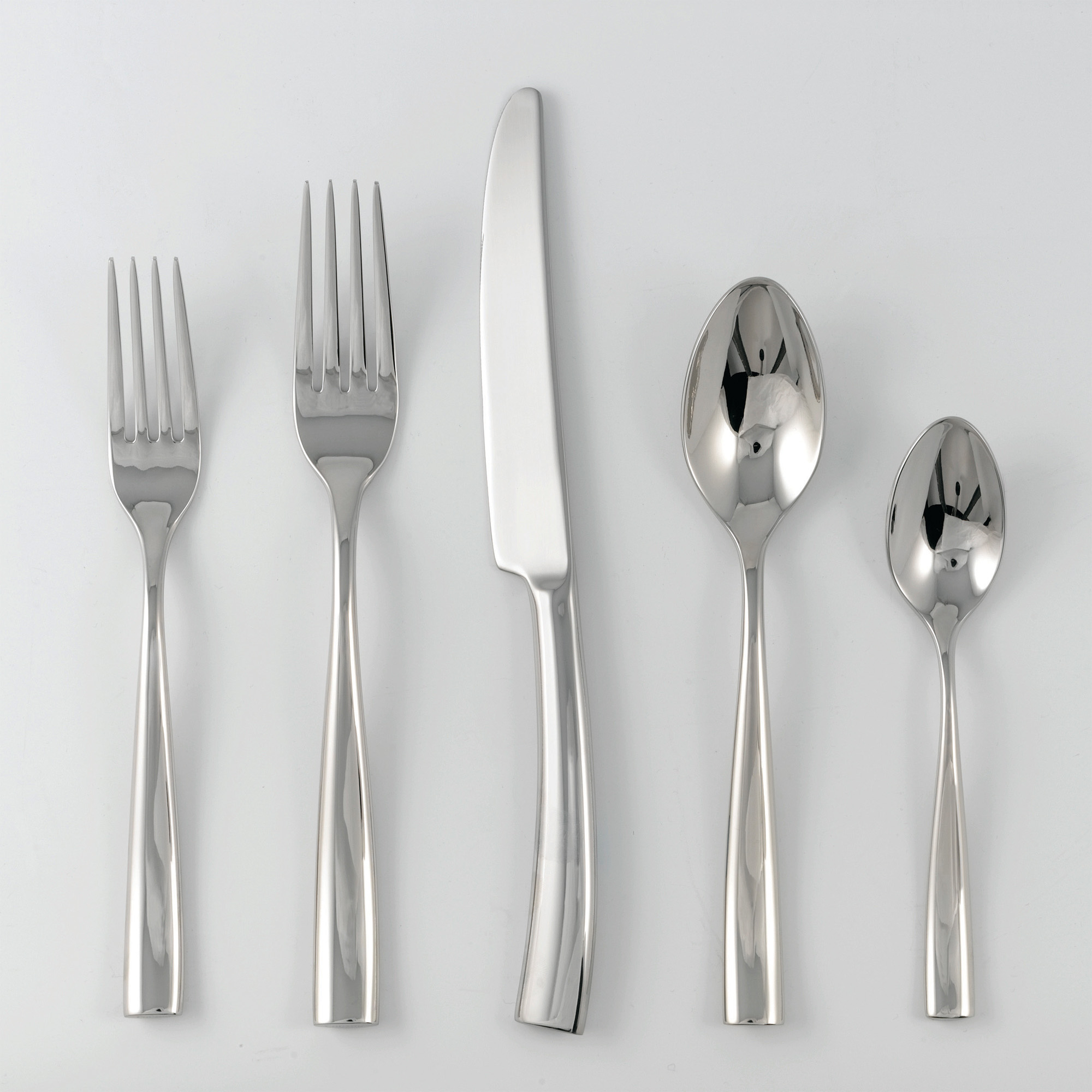 Jean Couzon Silhouette Bright Stainless Flatware