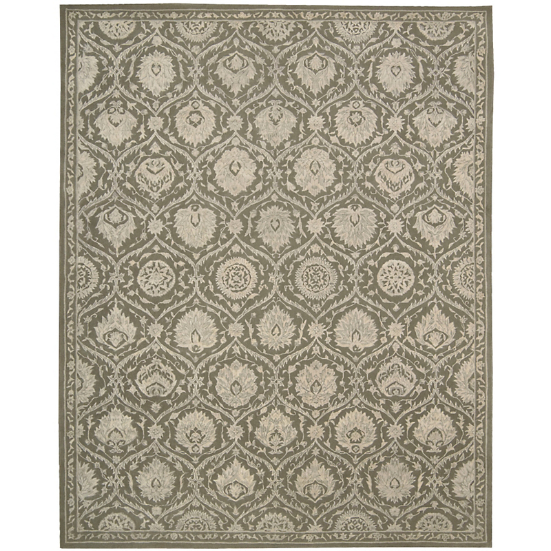 Nourison Regal Green Rug