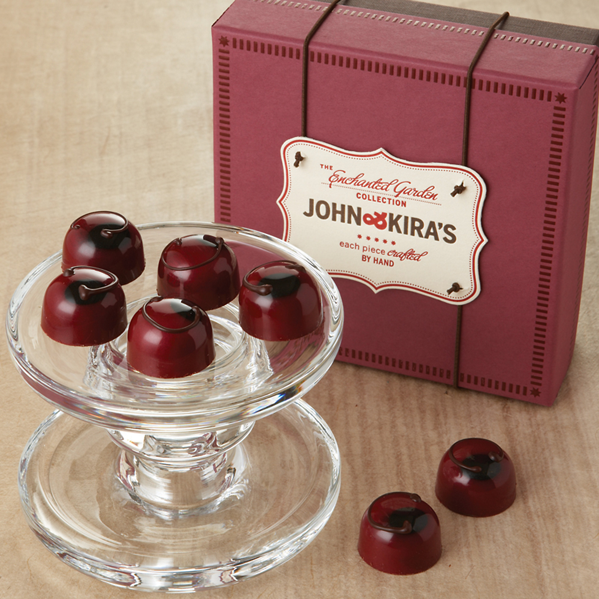John & Kira's Dark Chocolate Cherries