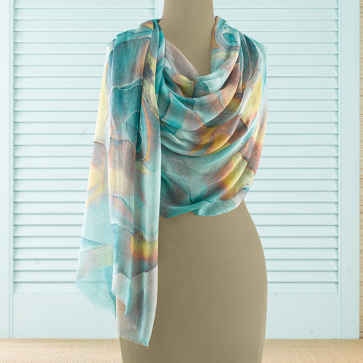 Sea Mirage Scarf