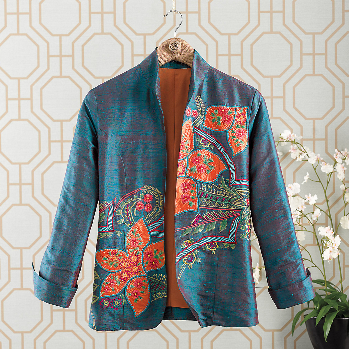 Silk Marigold Jacket