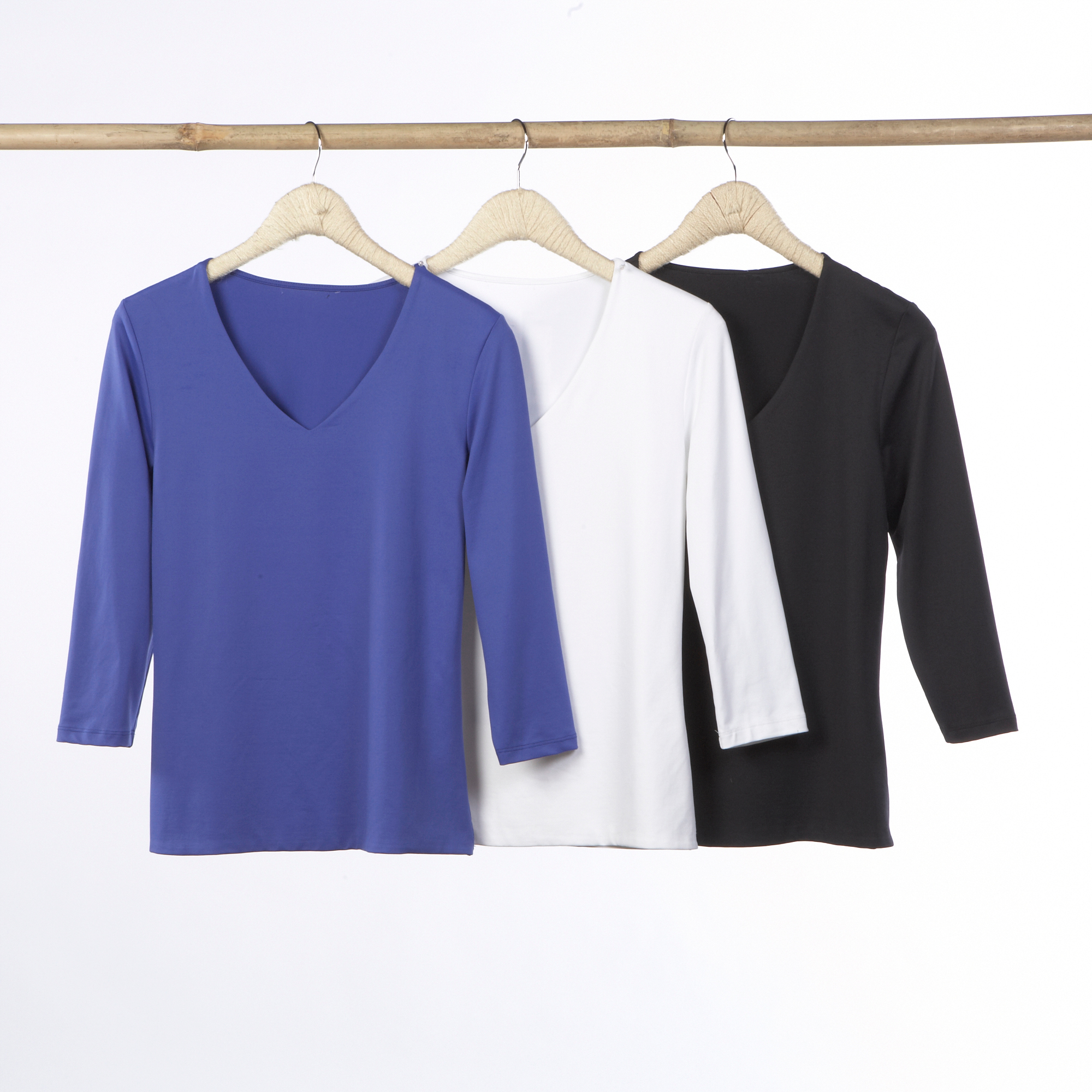 The Relaxed V-Neck Top