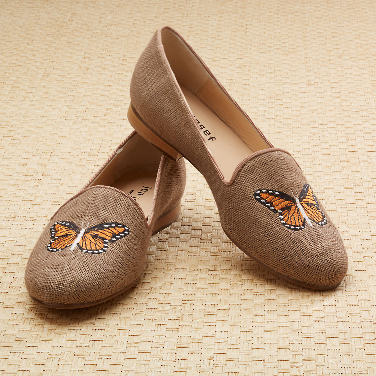 Linen Loafers, Butterfly