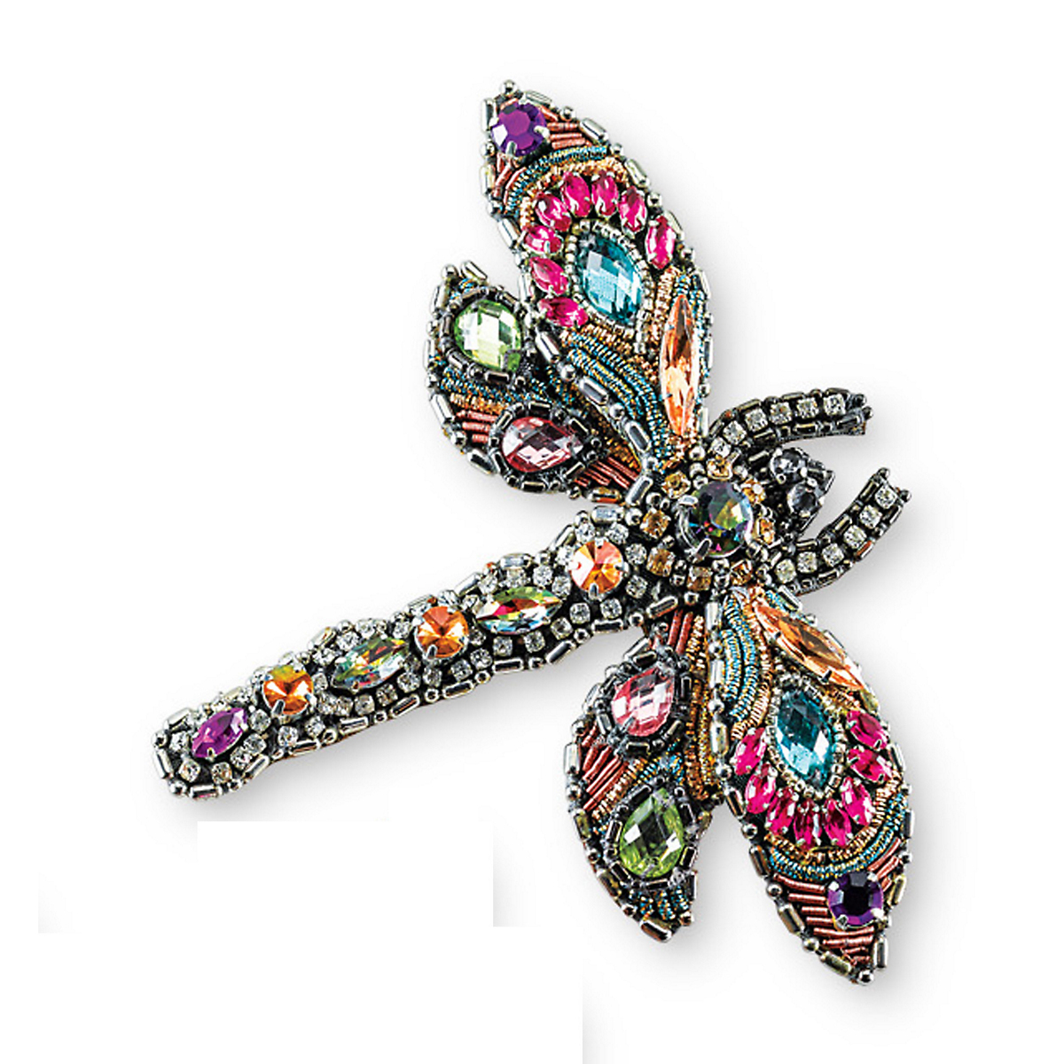 Mary Frances Beaded Dragonfly