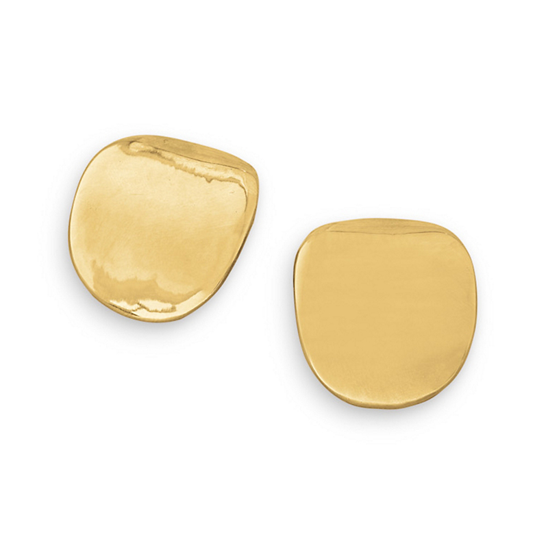 Simon Sebbag Smooth Disc Clip Earrings