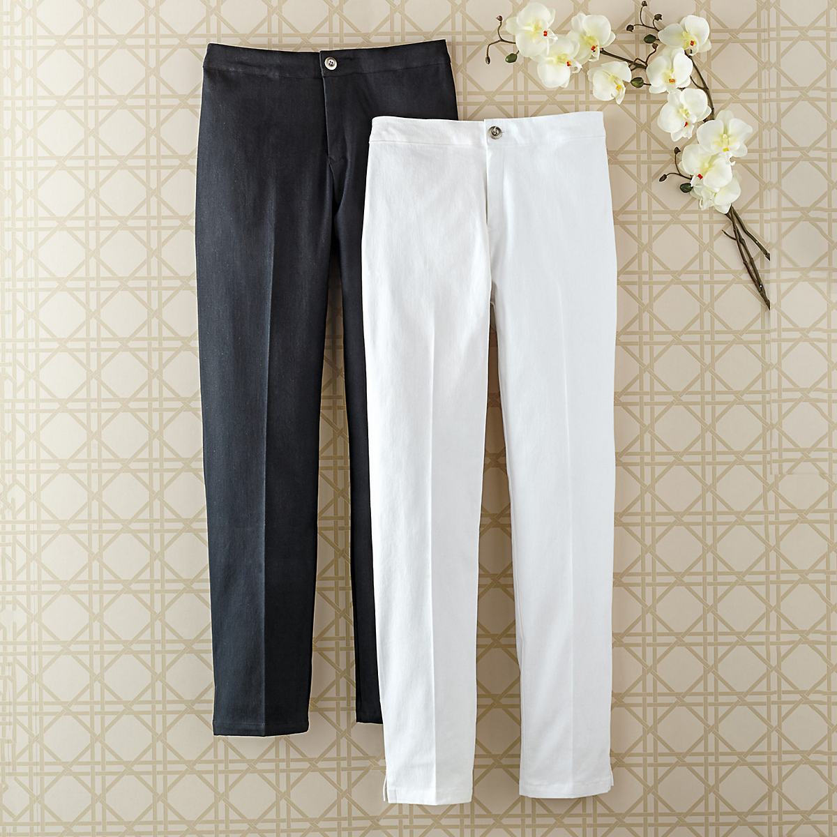 Savvy Stretch Ankle Pants