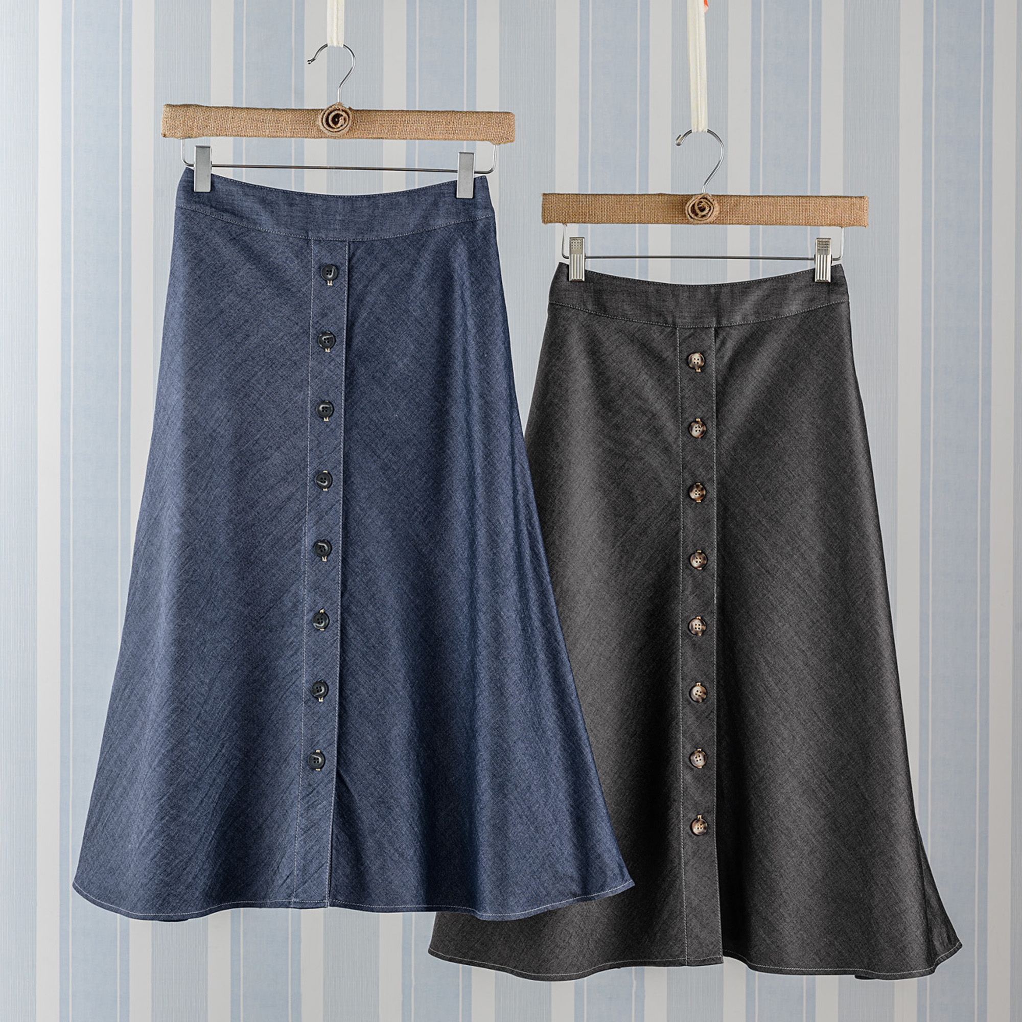 Tencel Denim Skirt