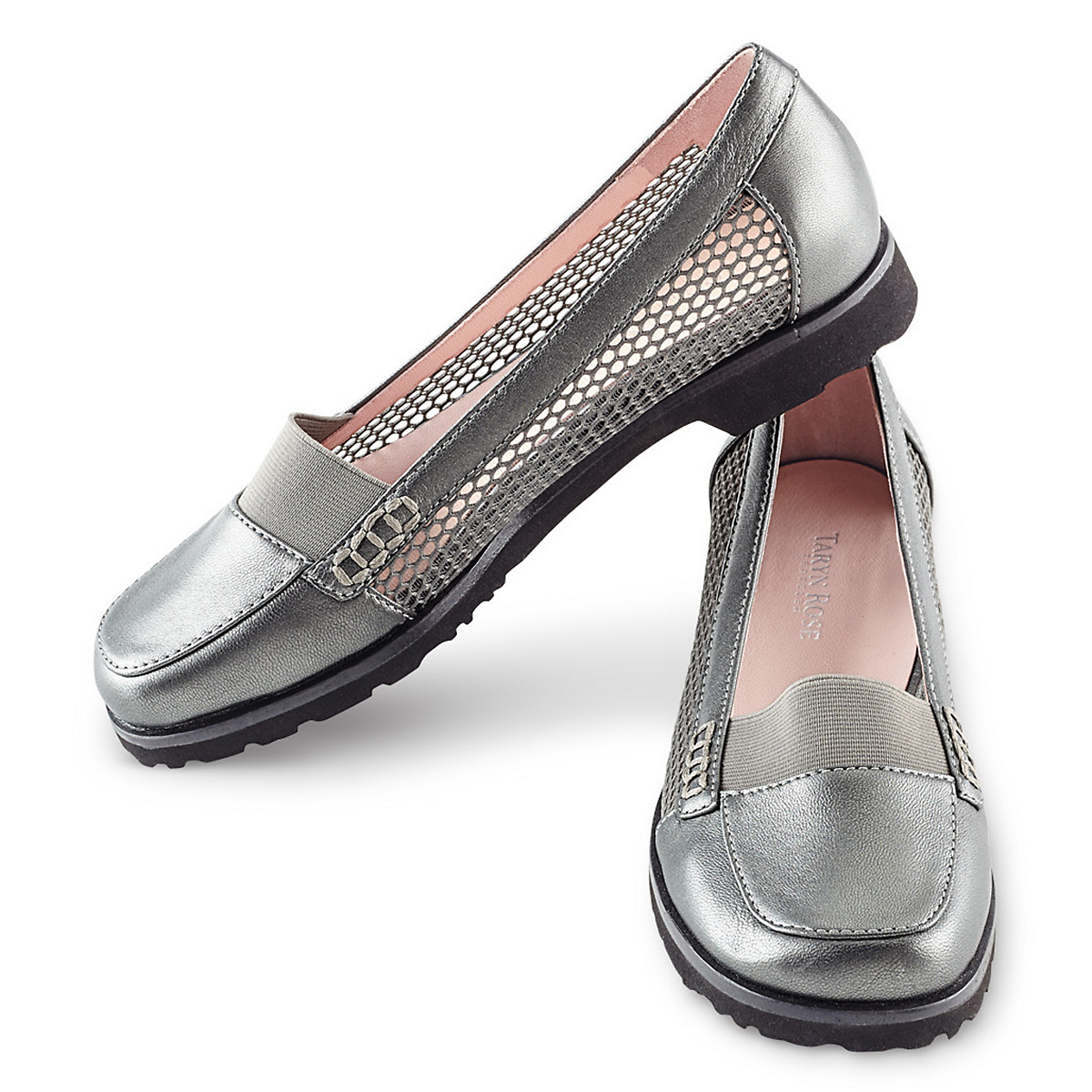 Taryn Rose Stretch Front Flats