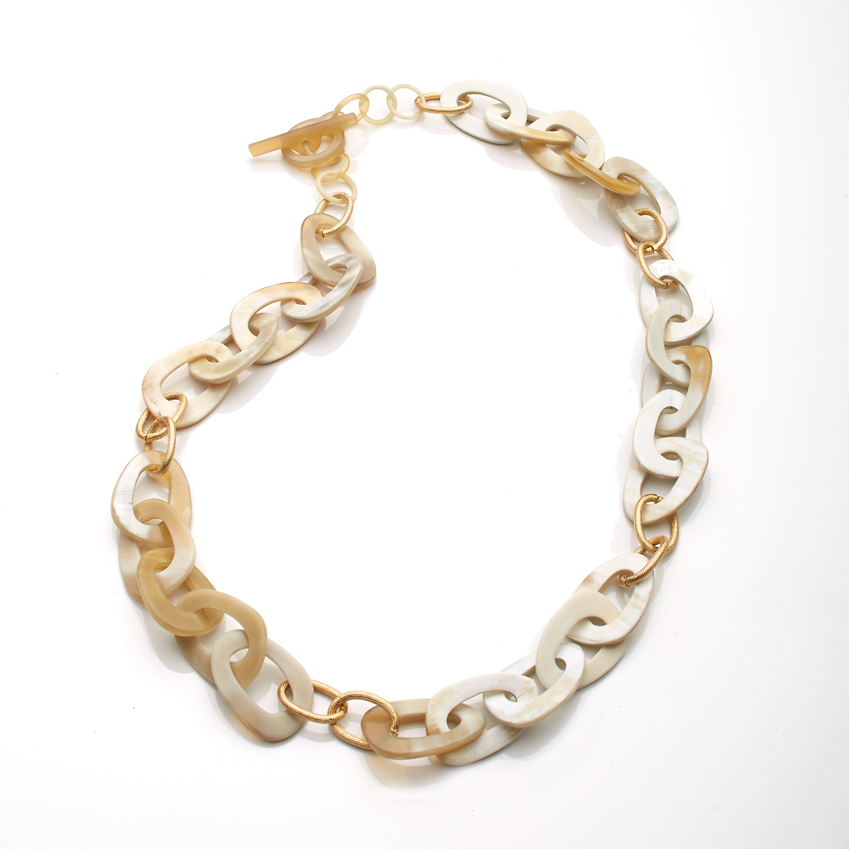 Carved Horn Necklace