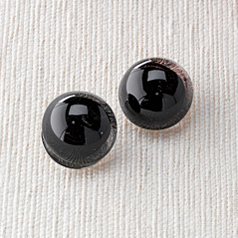 Murano Glass Button Earrings