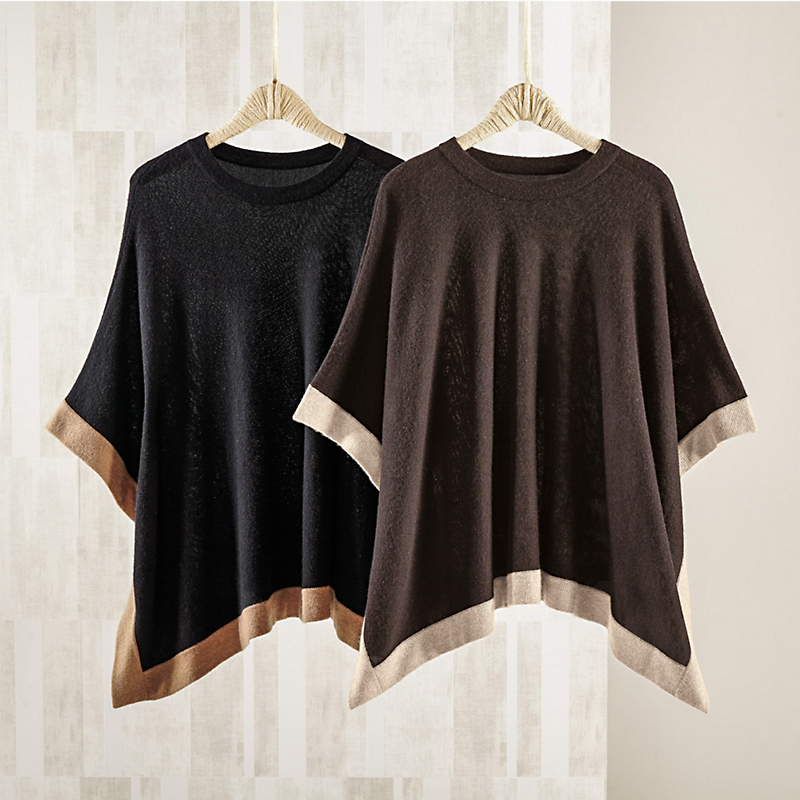Luxe Cashmere Poncho