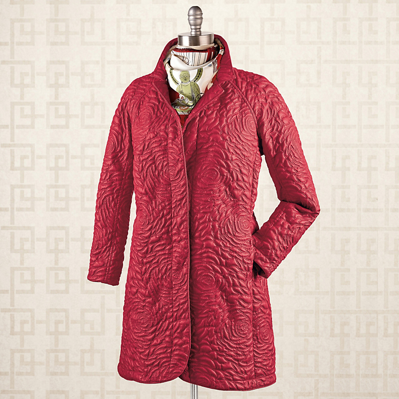 Mycra Pac Rose Coat