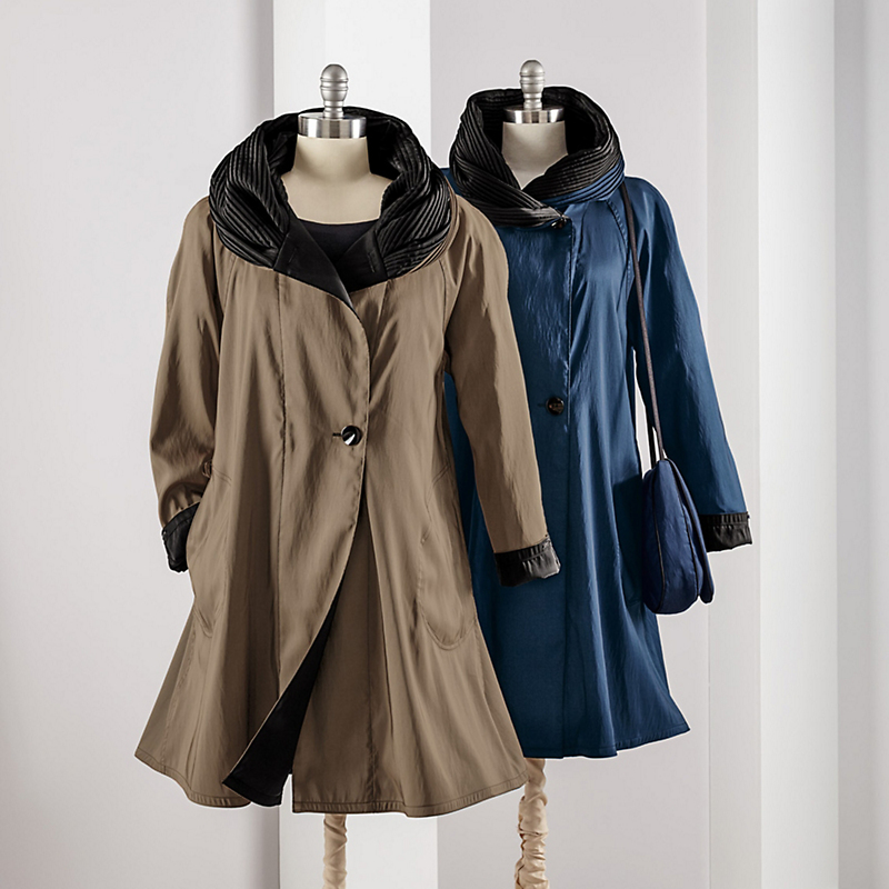 Mycra Pac Reversible Donatella Coat