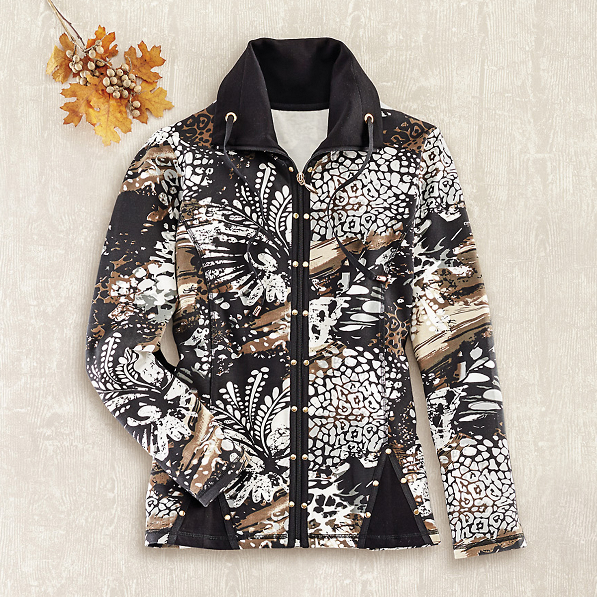 Stevie Printed Jacket