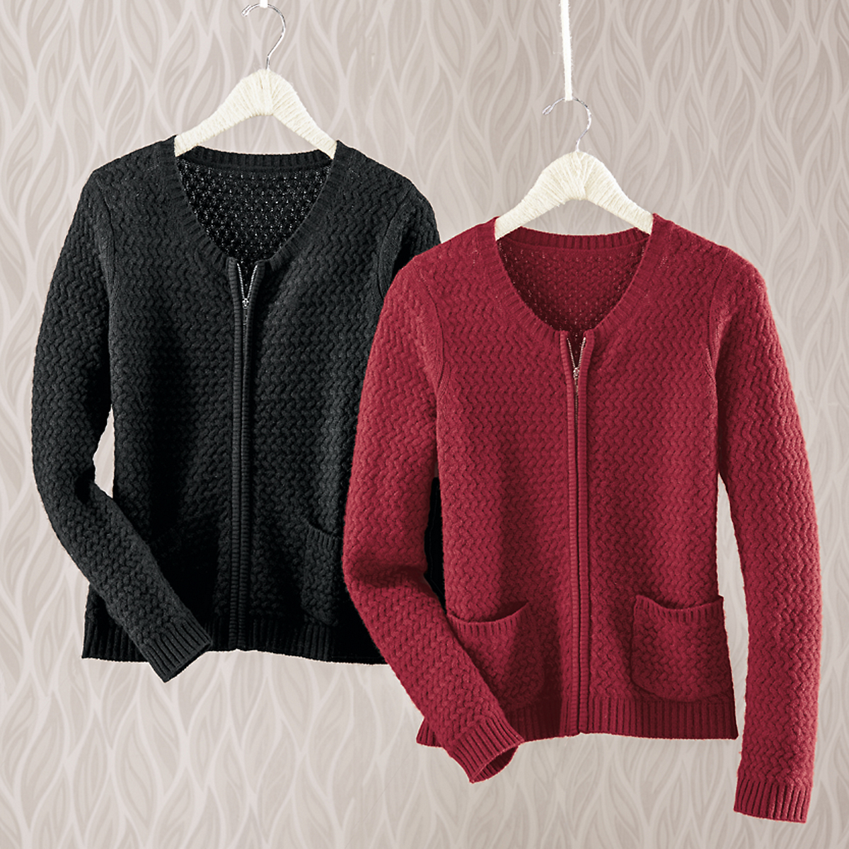 Cashmere Mini Cable Sweater