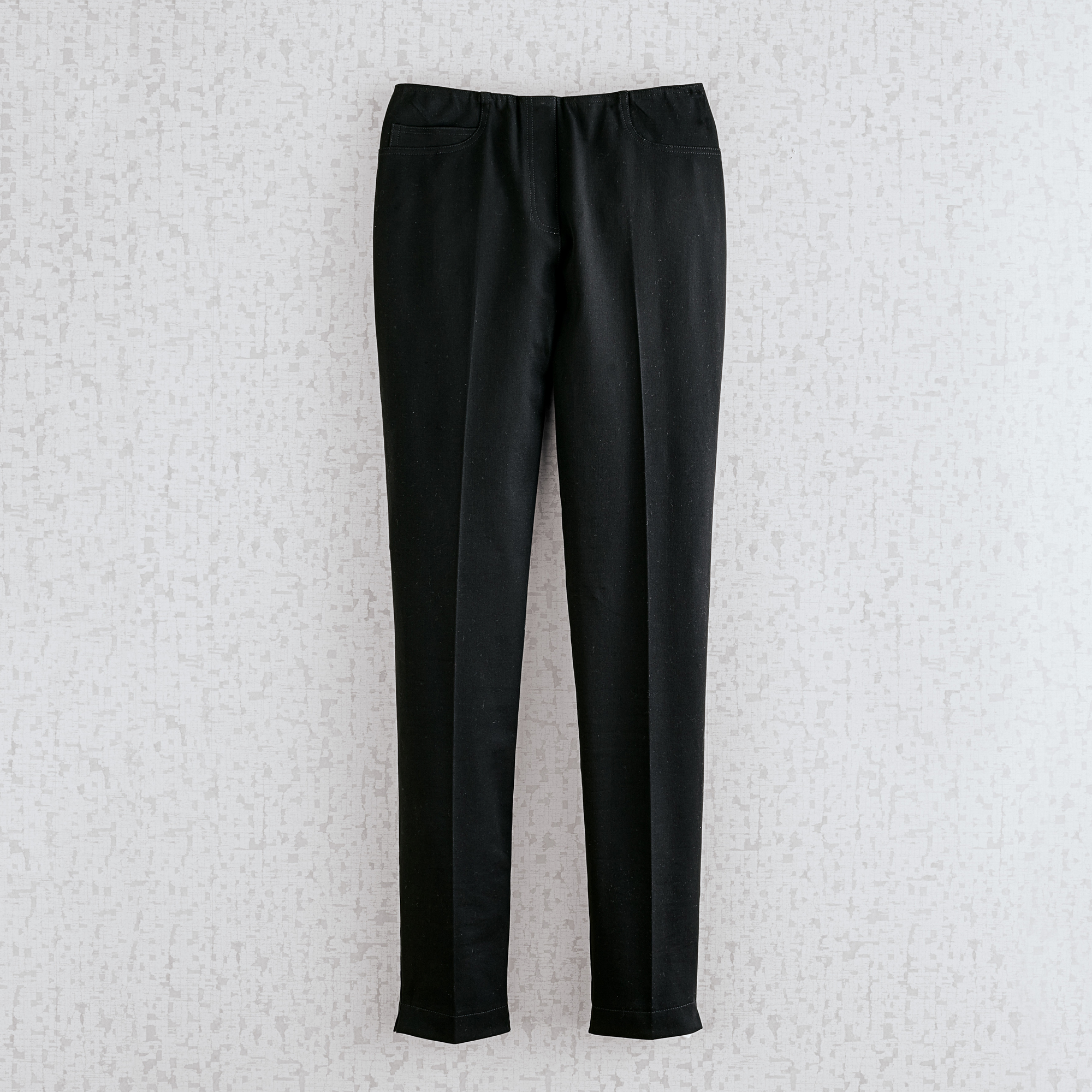 Stretch Straight Leg Pants