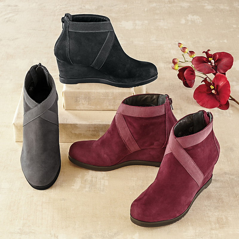 Andre Assous Banded Ankle Boots