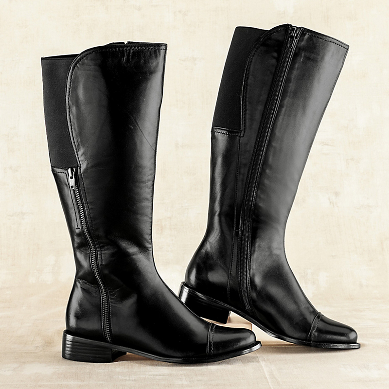Glen Ellen Side-Zip Boots
