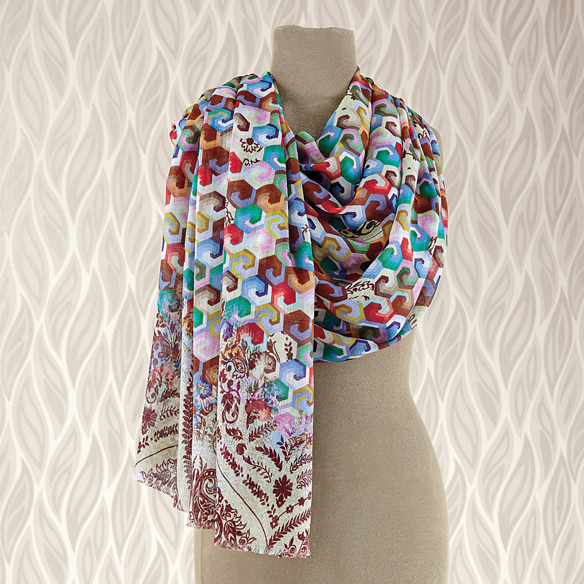 Honeycomb Multi Scarf
