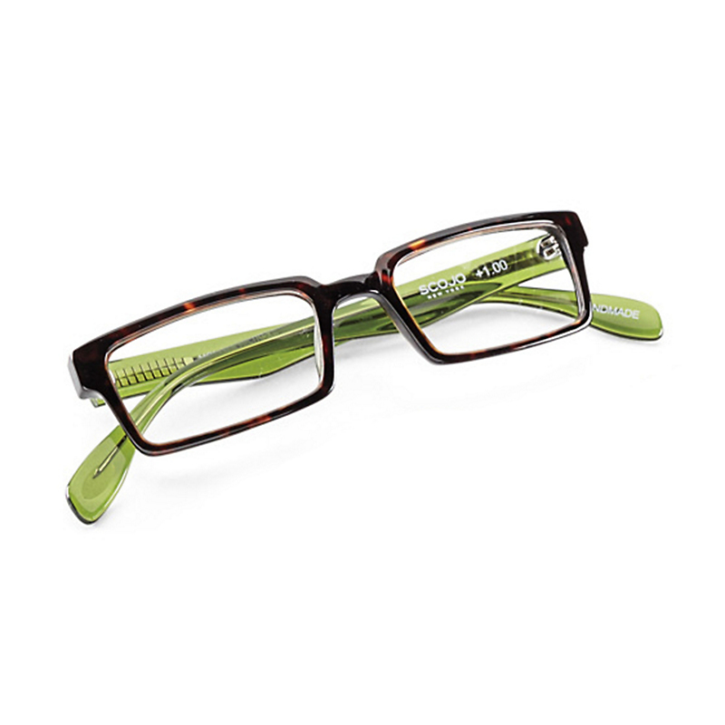 Scojo New York Readers, Lime Tortoise