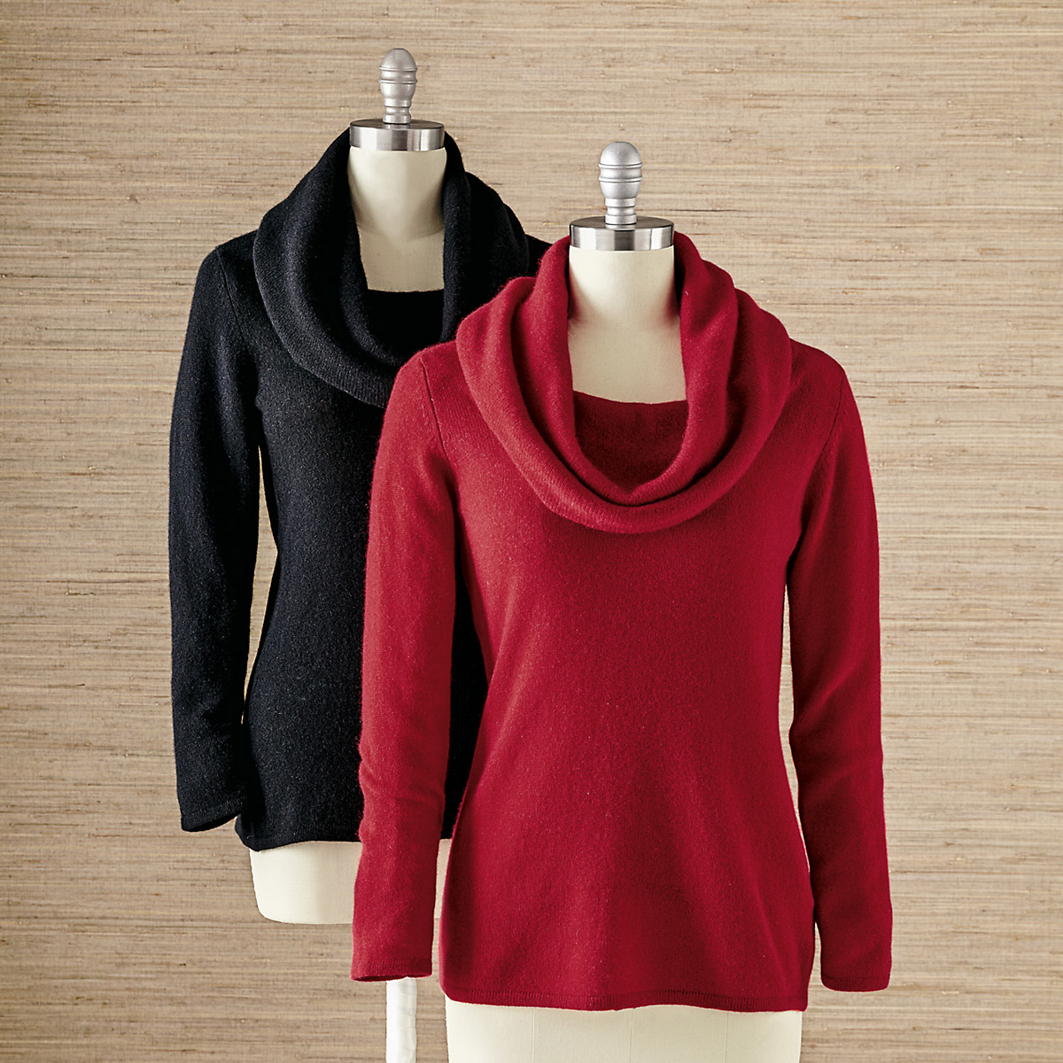Luxe Cashmere Cowlneck Sweater