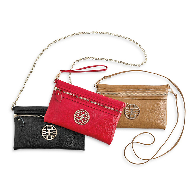 Trio Medallion Bag
