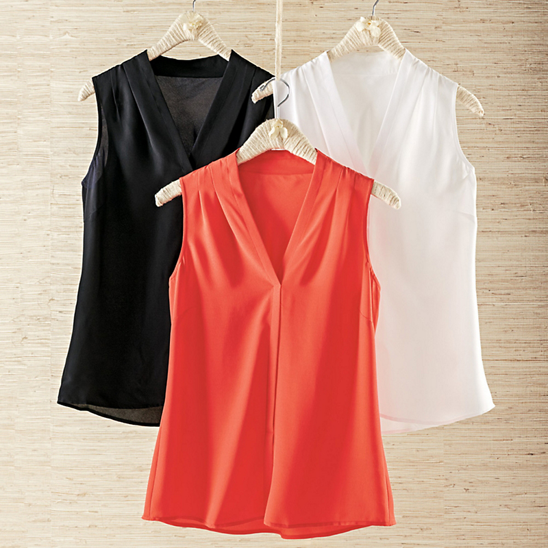 Nic & Zoe Sleeveless Blouse