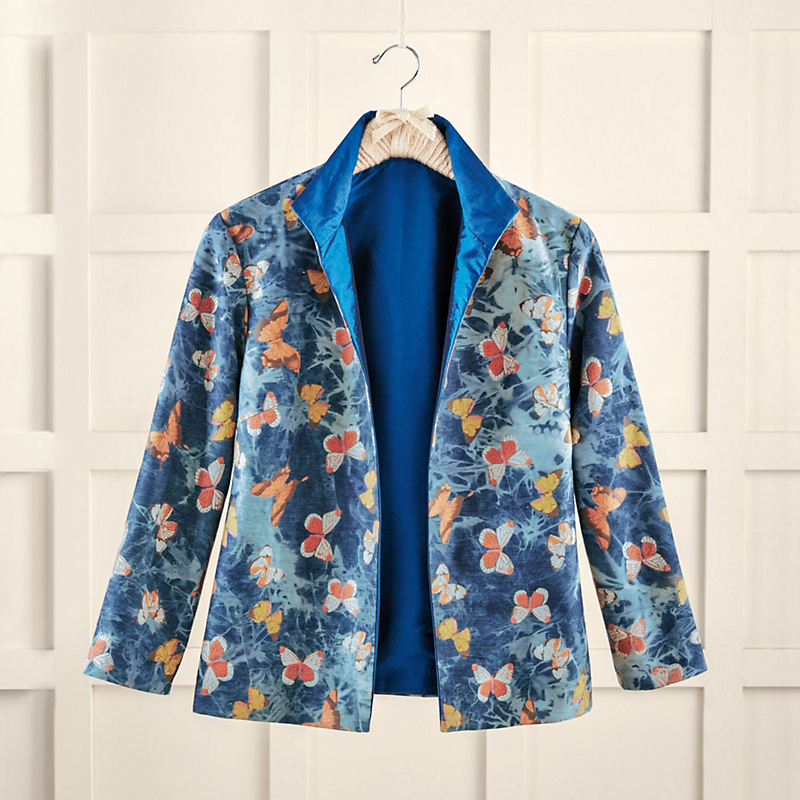 Denim Flutter Jacket