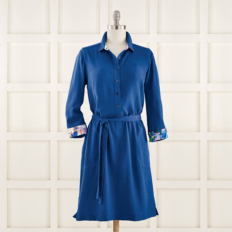 Go Silk Shirt Dress