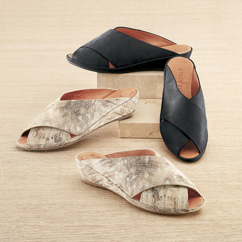Gentle Souls Lloyd Nubuck Sandals