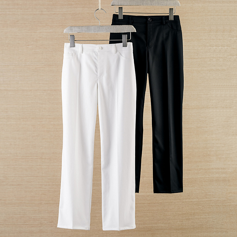 Casey Stretch Sateen Ankle Pants