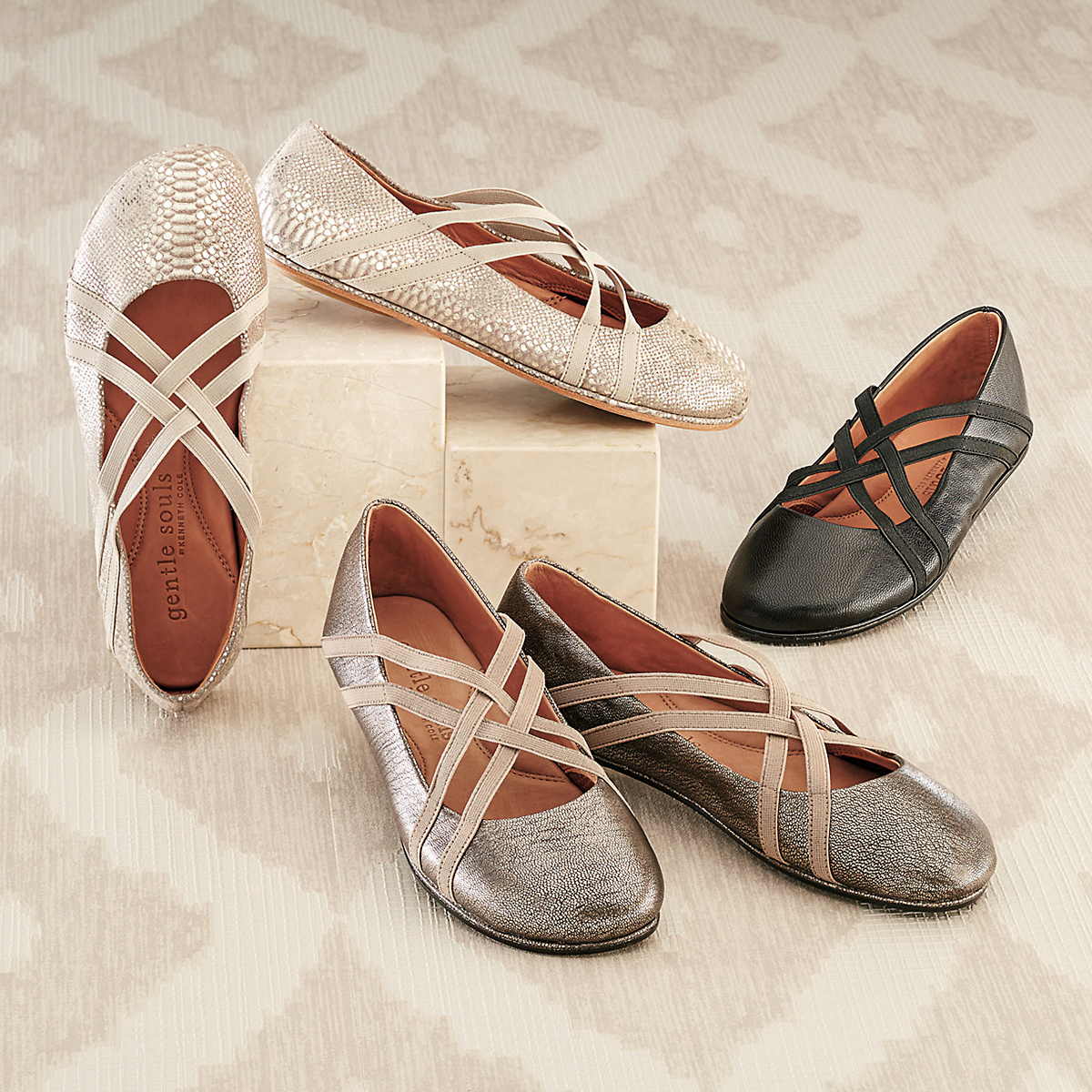 Gentle Souls Bay Braid Flats