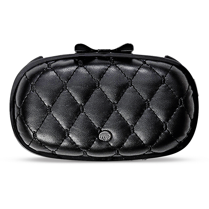 Quilted Phone Case, Black