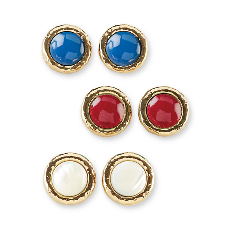 Simon Sebbag Clip Earrings