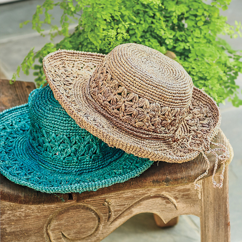 Hand-Crocheted Garden Hat