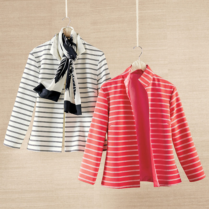 Grace Striped Jacket